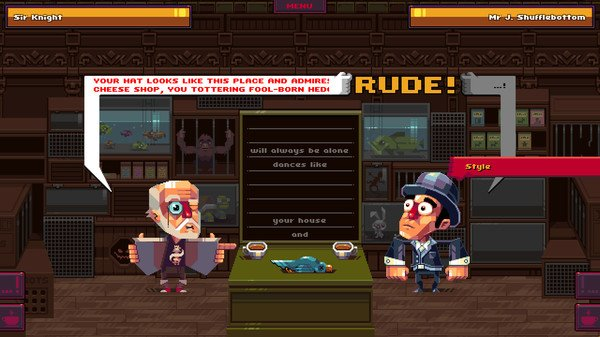 Oh...Sir!! The Insult Simulator - #GTUSA 4