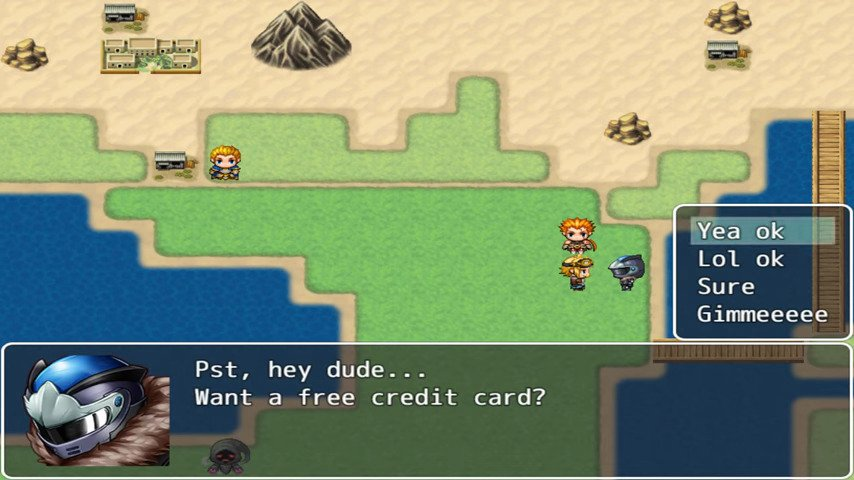 Joke: The 'RPG' Game - #GTUSA 2.