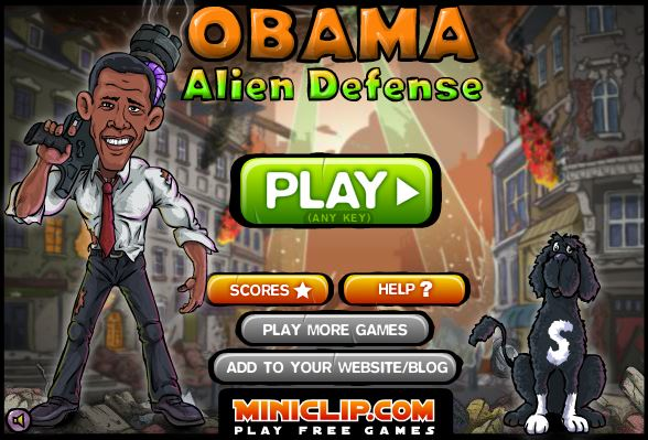 Obama Alien Defense - #GTUSA 1