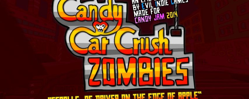 Candy Car Crush 3D : Zombies ~ Free PC Download