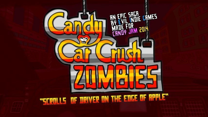 Candy Car Crush 3D : Zombies - #GTUSA 1