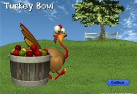 "I Just Bowled A Turkey In ""Turkey Bowl"""