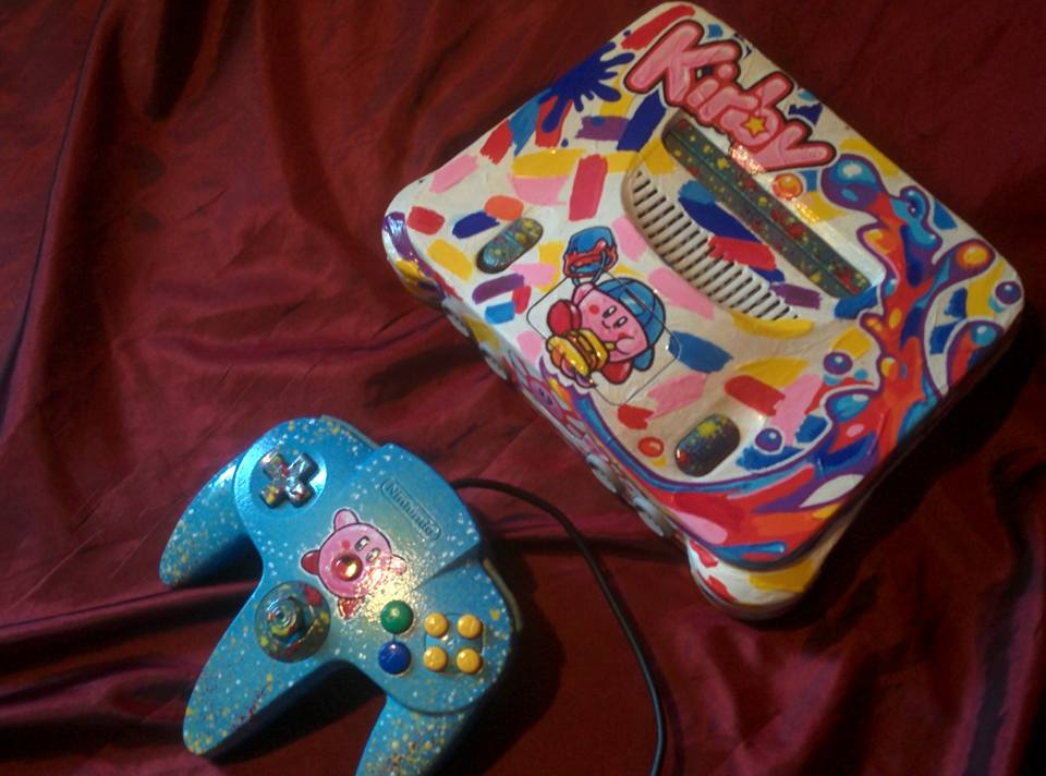 Custom R Video Game Consoles - #GTUSA 3