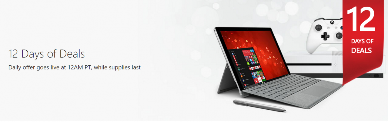 Microsoft's 12 Days of Deals - #GTUSA 2