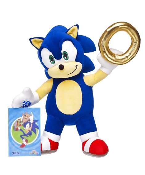 Sonic & Tails at Build-a-Bear - #GTUSA 2