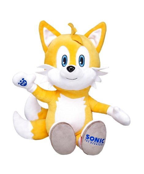 Sonic & Tails at Build-a-Bear - #GTUSA 3