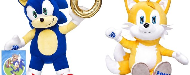 Sonic & Tails Join The Build-a-Bear Lineup