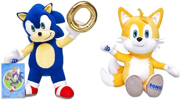 Sonic & Tails at Build-a-Bear - #GTUSA 1