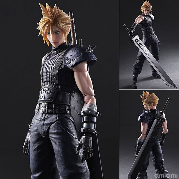 2 Final Fantasy VII Figures Coming In 2017 - #GTUSA 2