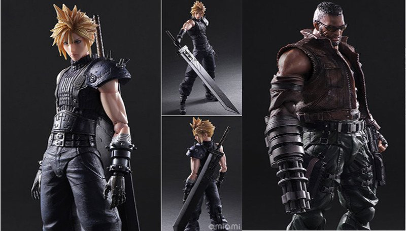 2 Final Fantasy VII Figures Coming In 2017 - #GTUSA 1