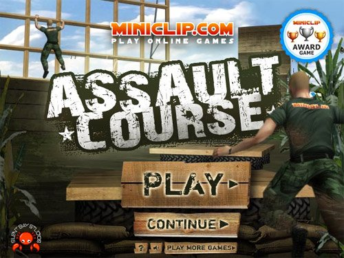 Assault Course - #GTUSA 1