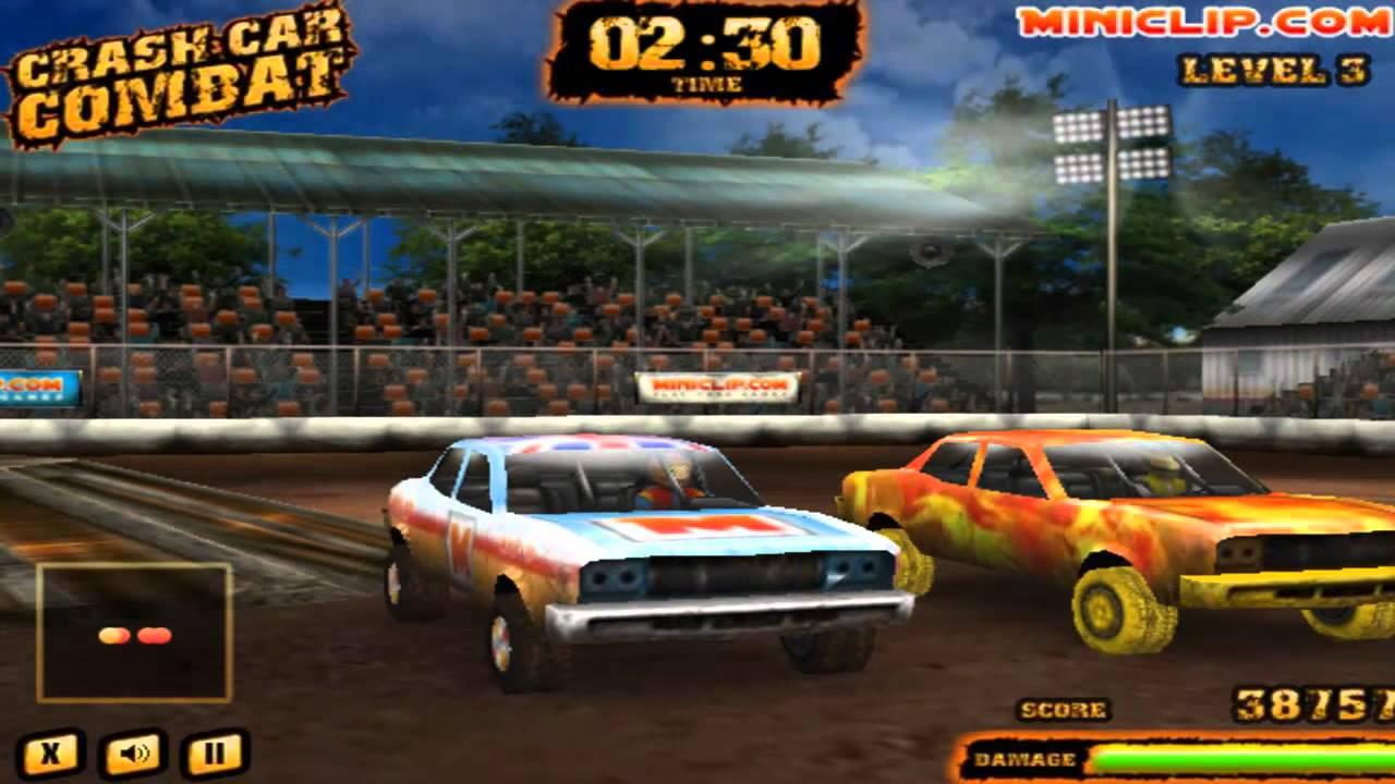 Crash Car Combat - #GTUSA 1