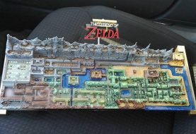 Custom Legend Of Zelda Map Recreated In 3D