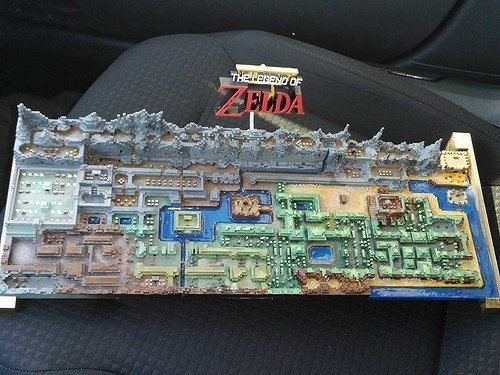 Legend of Zelda 3D Map - #GTUSA 1