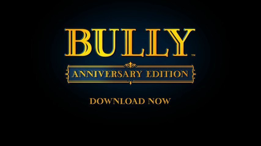 Bully Anniversary Edition - #GTUSA 1