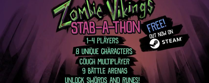 """""""Zombie Vikings: Stab-a-thon"""" – Free To Play On Steam"""