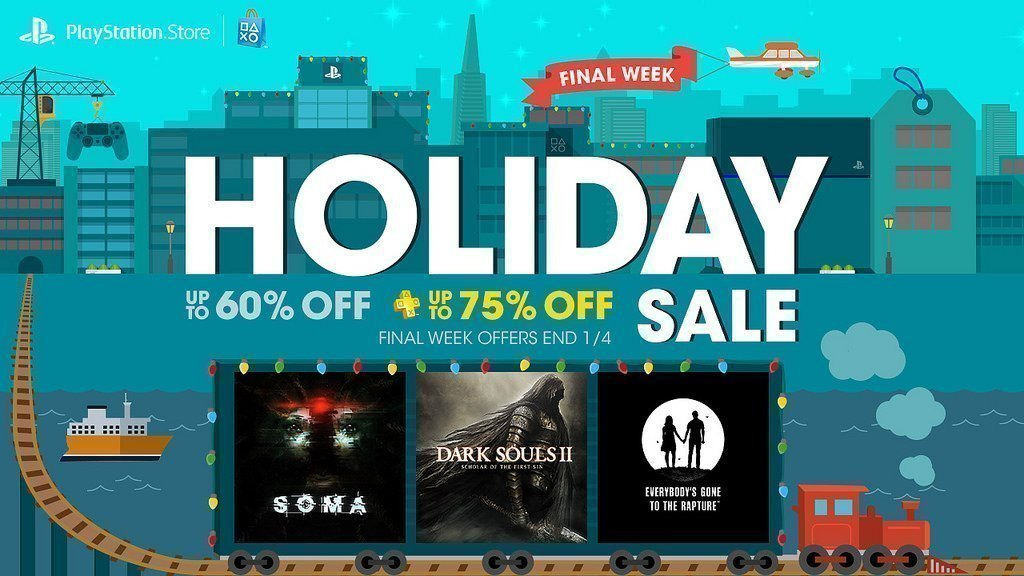 PlayStation Holiday Sale Week 4 - #GTUSA 1