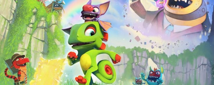 Yooka-Laylee release date confirmed, Wii U version canned