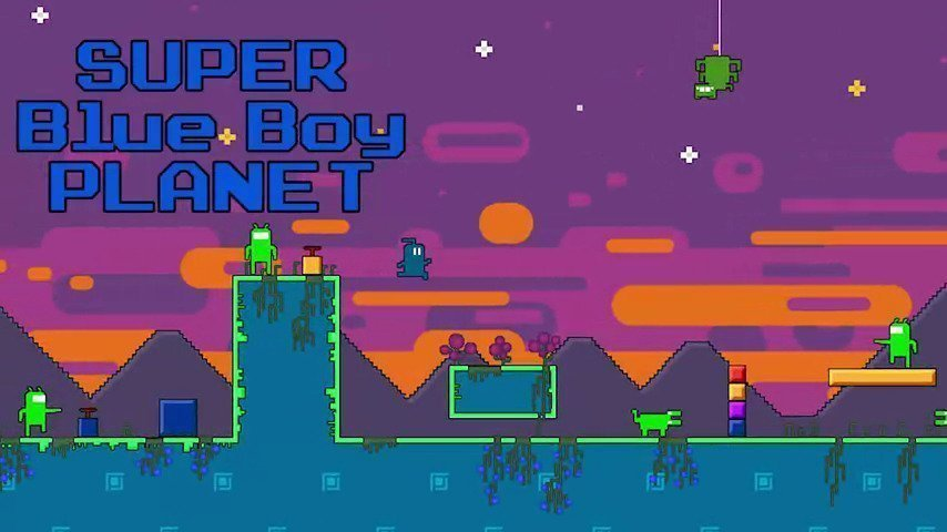 Super Blue Boy Planet - #GTUSA 1