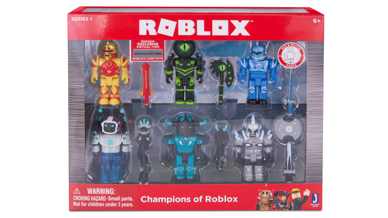 "First Wave Of ""Roblox"" Toys - #GTUSA 1"