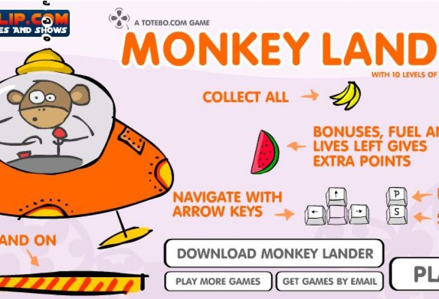 Monkey Lander – Free To Play Mobile Game