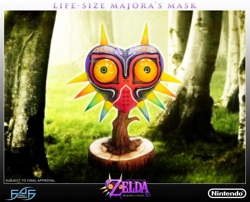 Majora's Mask Collectable Life-Size Replica - #GTUSA 1