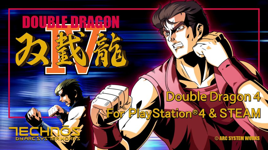 Double Dragon IV - #GTUSA 1