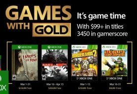 Microsoft Announces March Games with Gold Titles