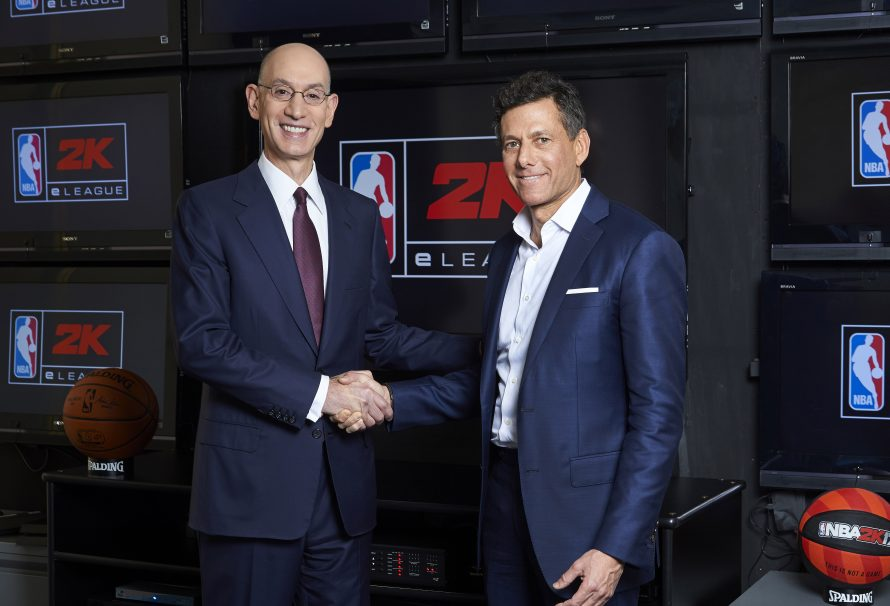 NBA And Take-Two To Launch New Gaming League In 2018