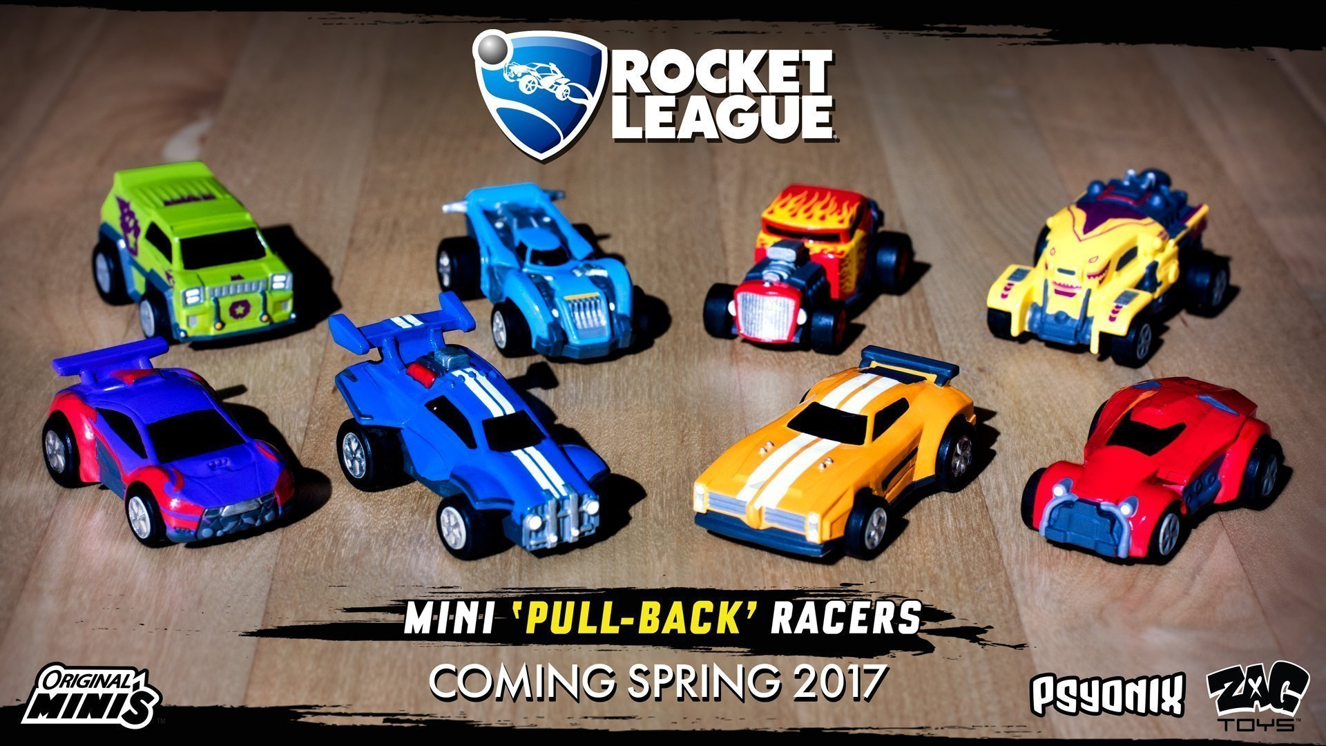 Rocket League Pull-Back Racers - #GTUSA 1