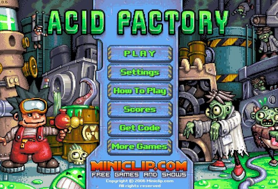 Acid Factory – Free To Play Mobile Game