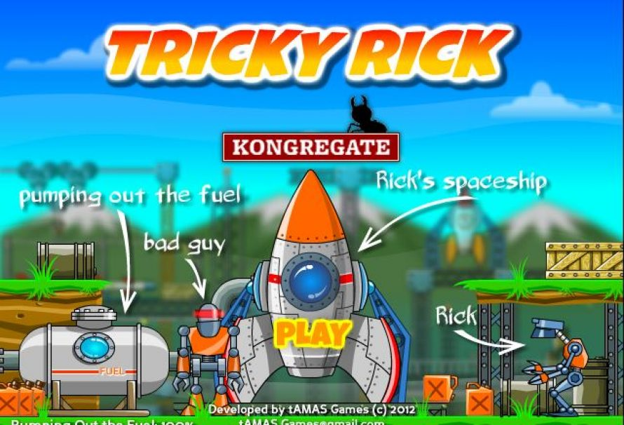 Tricky Rick – Free To Play Browser Game