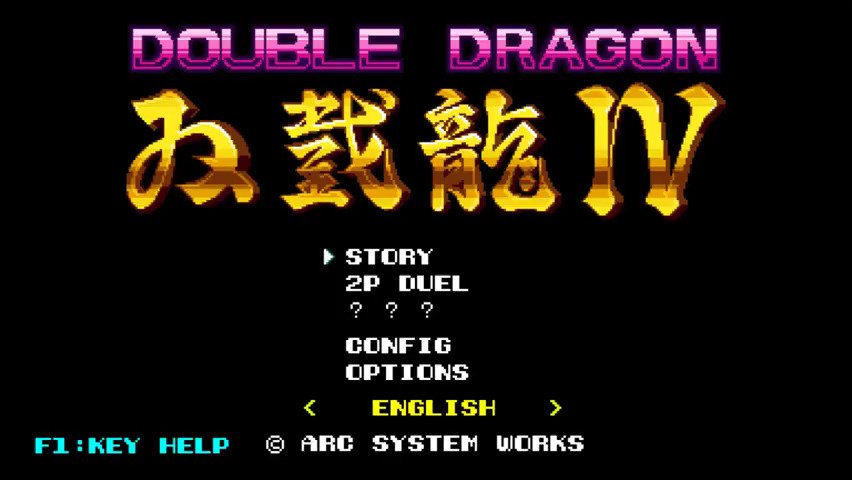 Double Dragon IV Review - #GTUSA 3