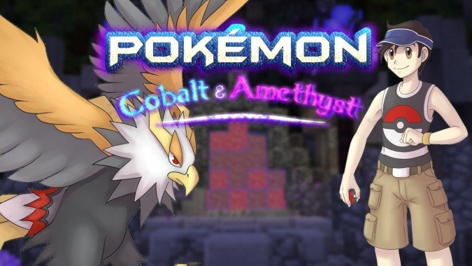 Minecraft Mod Pokémon: Cobalt and Amethyst - #GTUSA 1