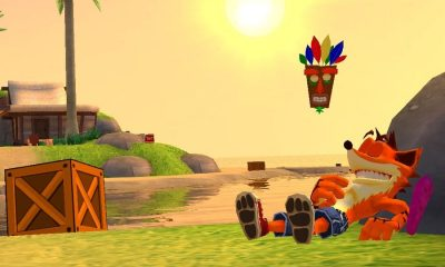 Crash Bandicoot Beach Level