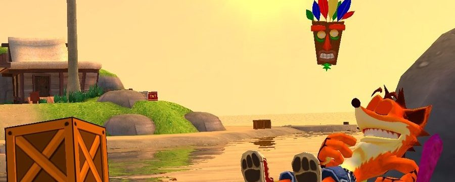 Crash Bandicoot: N. Sanity beach level design