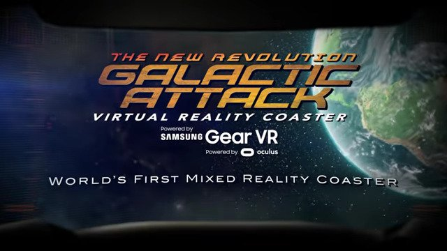 The New Revolution Galactic Attack VR Coaster - #GTUSA 2