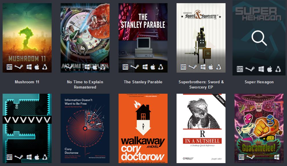 47 Game Humble Freedom Bundle - #GTUSA 3