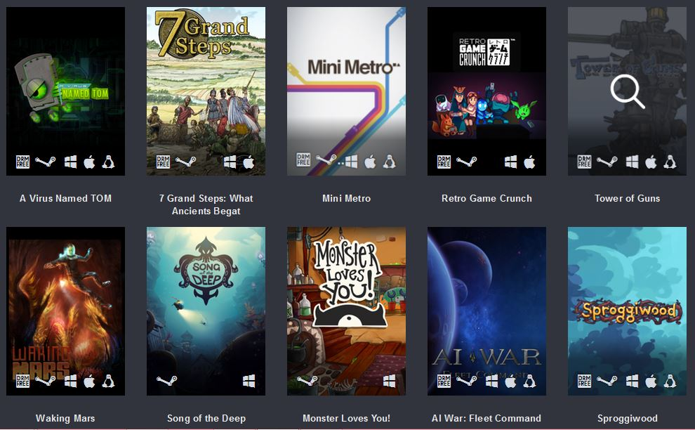 47 Game Humble Freedom Bundle - #GTUSA 5
