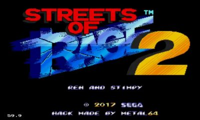 Ren & Stimpy in Streets of Rage 2 - #GTUSA 1