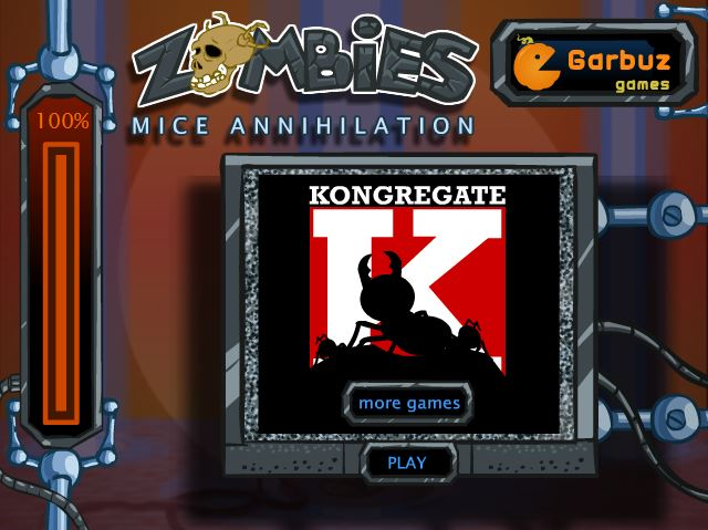 zombies mice annihilation free to play browser game