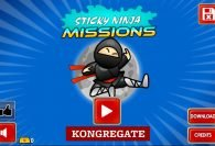 Sticky Ninja Missions - Free To Play Browser Game