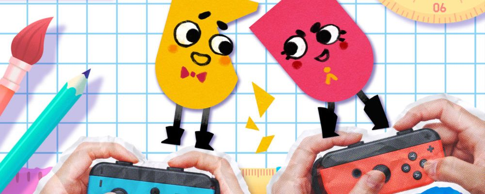 Snipperclips is a launch title, in new Joy-Con bundle