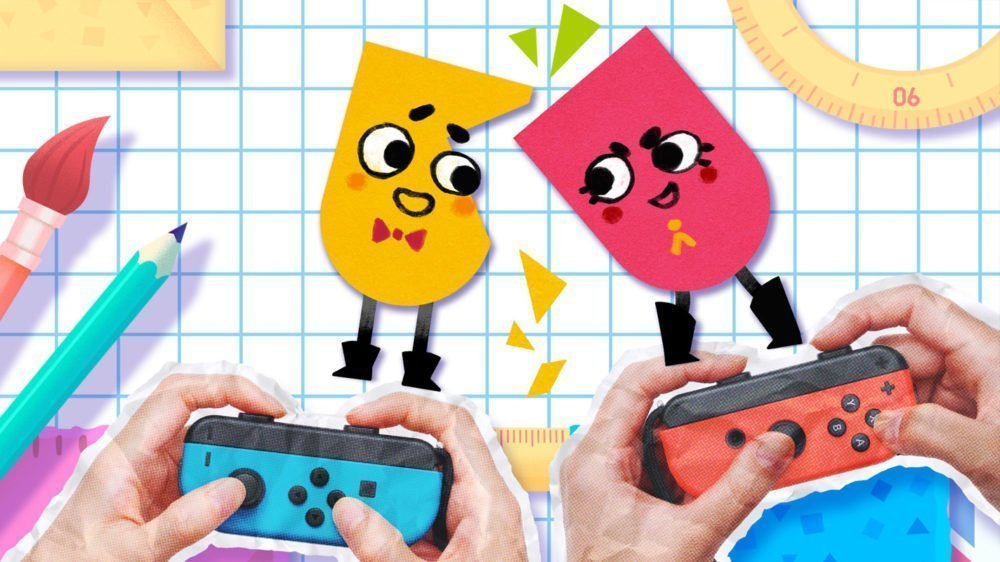 Snipperclips is a launch title, in new Joy-Con bundle ...
