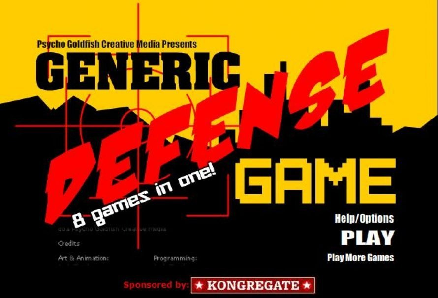 Generic Defense Game – Free To Play Browser Game