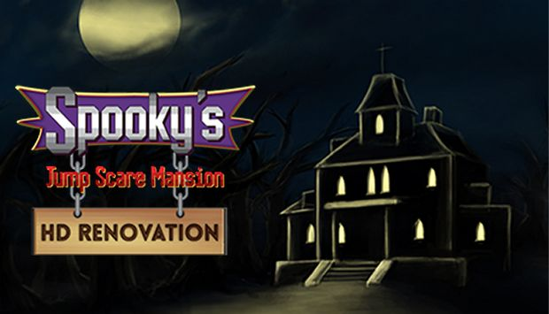 Spooky's Jump Scare Mansion: HD Renovation - #GTUSA 1