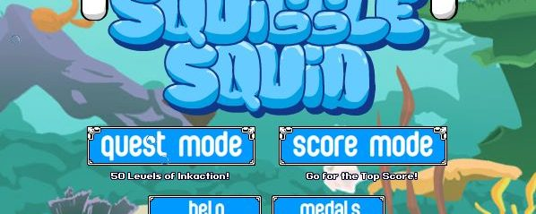 Squiggle Squid – Free To Play Browser Game