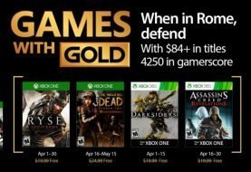 Microsoft Announces April Games with Gold Lineup