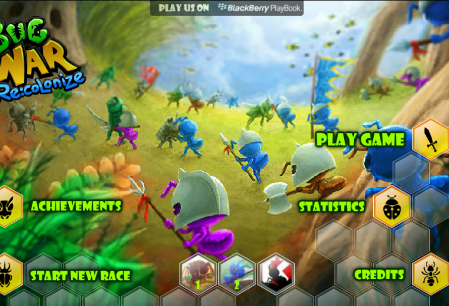 Bug War Recolonize – Free To Play Browser Game