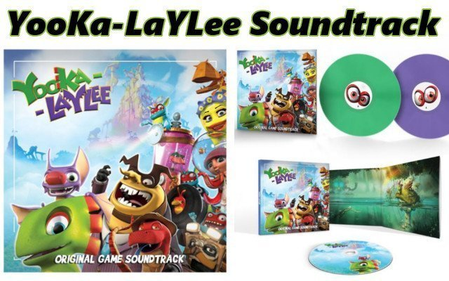 Yooka-Laylee's Soundtrack Out Now on Vinyl, CD and Digital Platforms - #GTUSA 1